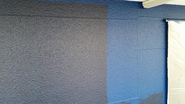 ALCに2回目、3回目の塗装