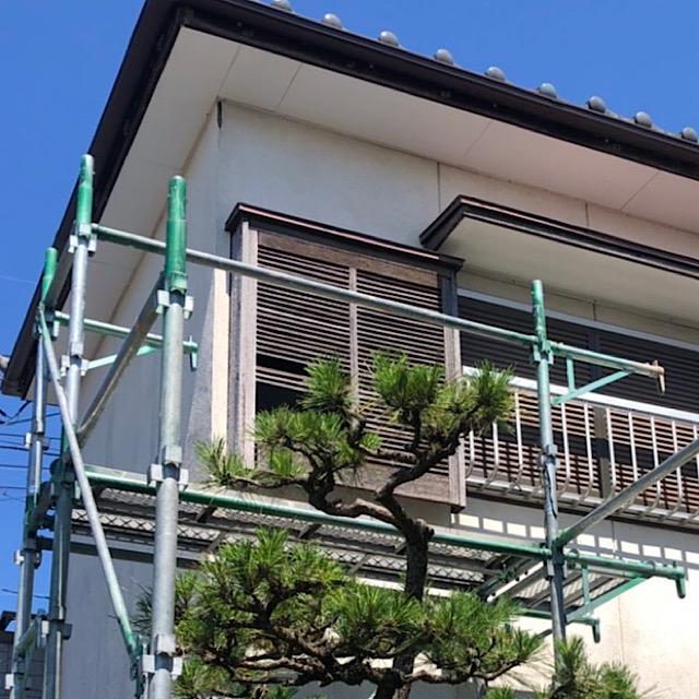 羽島市で戸箱が破損