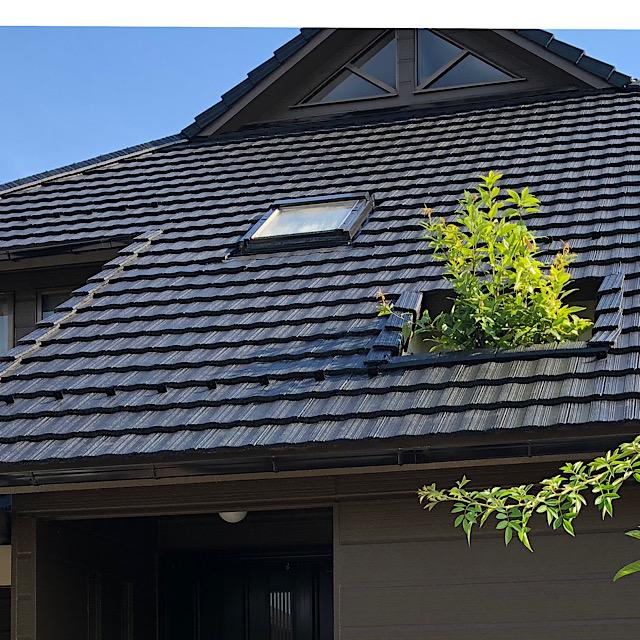 大垣市で外壁塗装工事と屋根塗装工事完成