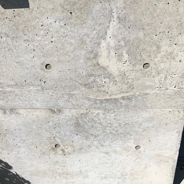 コンクリート仕上げの壁