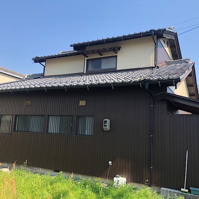 瑞穂市で日本家屋カバー工法完成