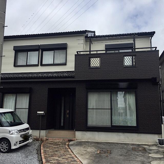 神戸町で外壁塗装工事