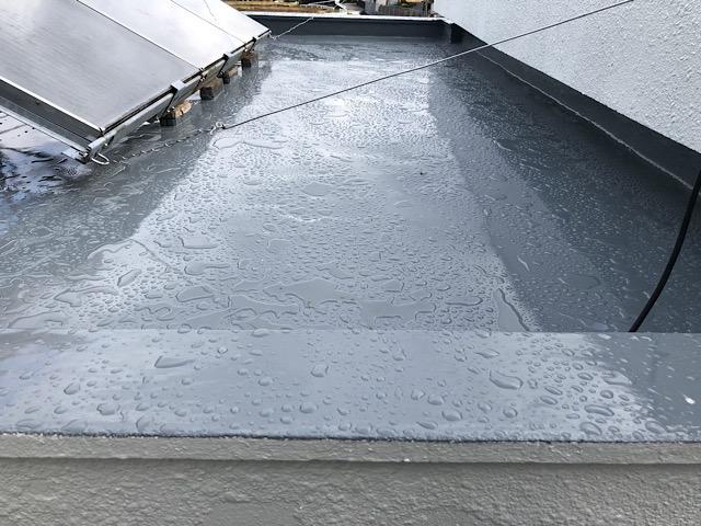 屋上防水工事立ち上がり部分