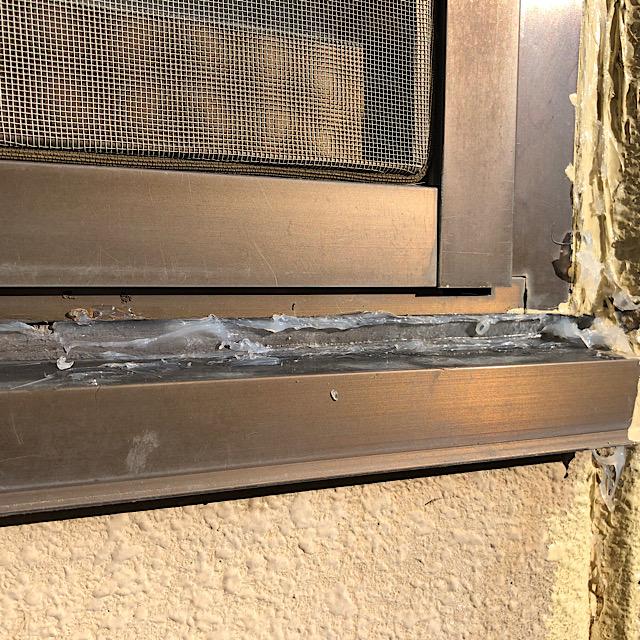 本巣郡北方町で窓まわりのシーリングから雨漏り