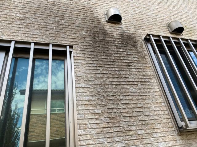岐阜市で劣化した外壁の塗装工事とベランダ防水工事を行いました