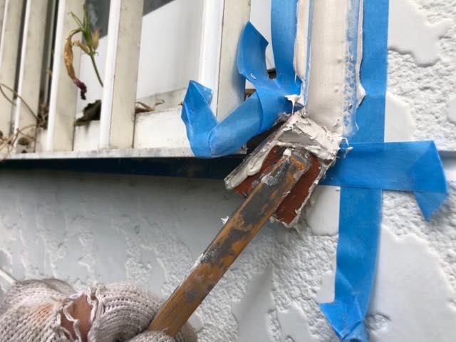 塗装と一緒にシーリング工事