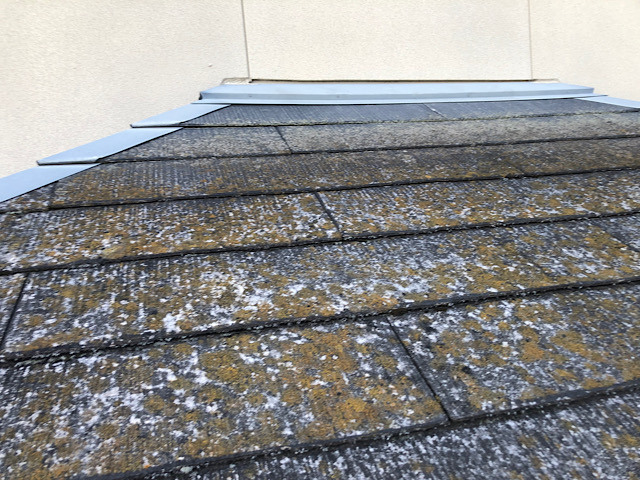 カラーベスト屋根の塗装前の写真