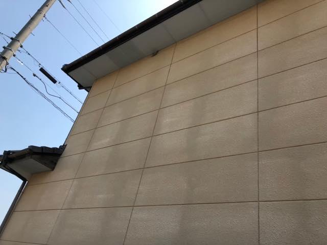 外壁の色あせ