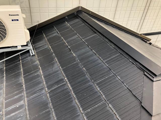 これはスレート屋根です
