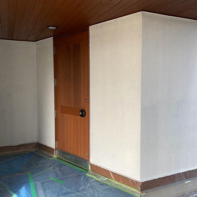 安八郡神戸町で外壁塗装下塗り