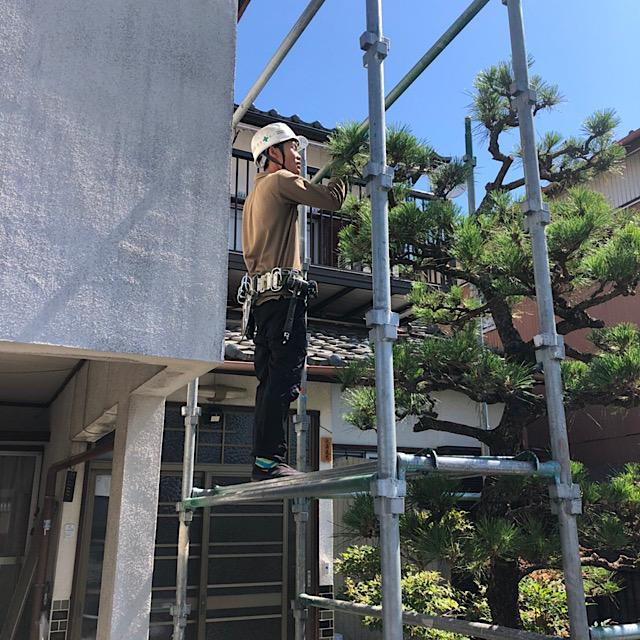 羽島市で足場工事
