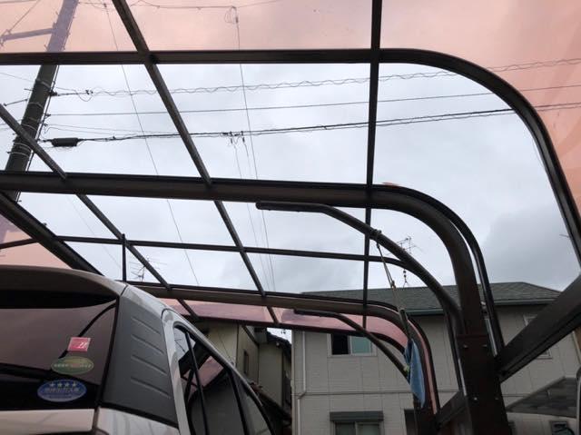 台風による破損