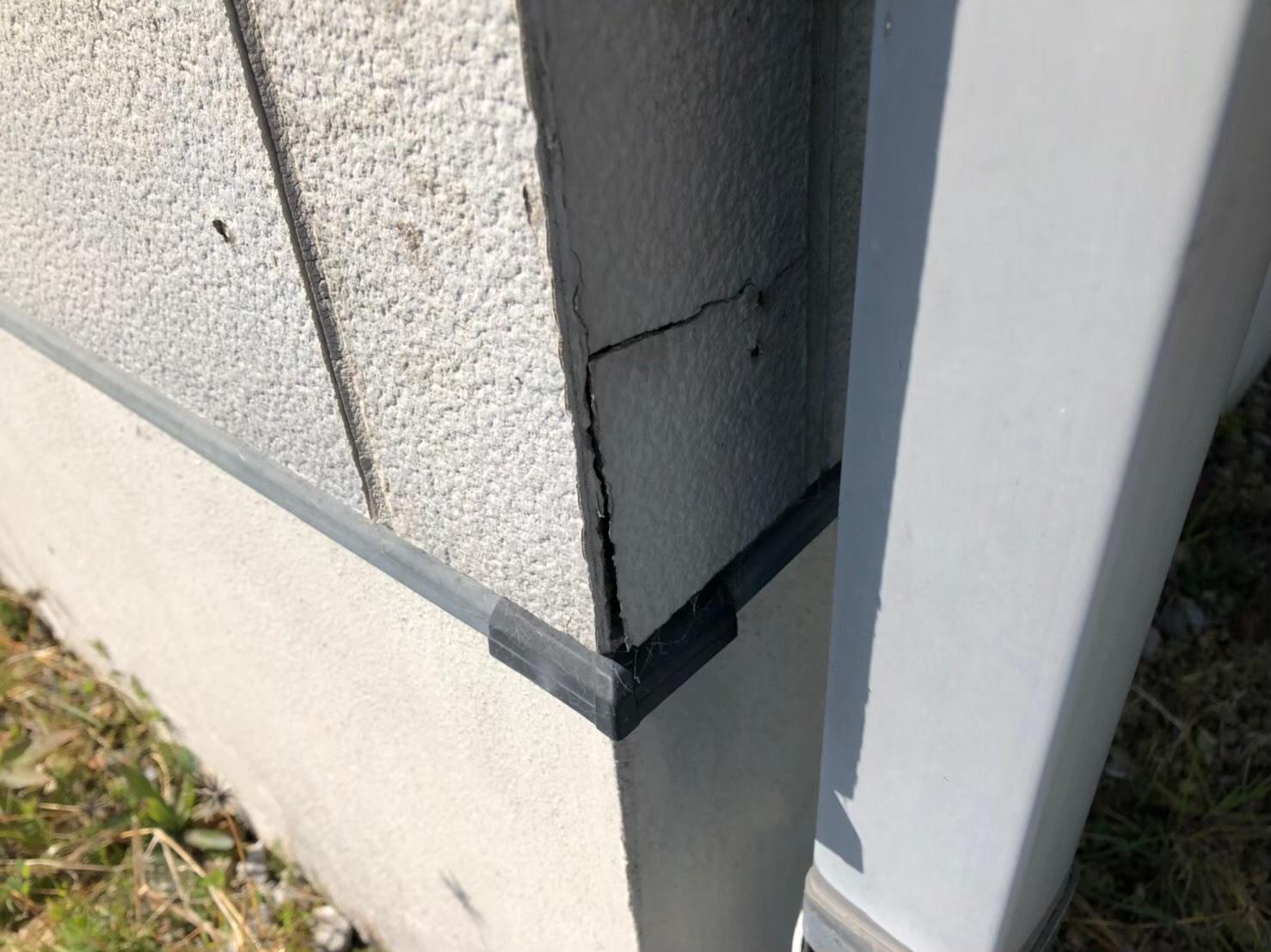 外壁の割れ