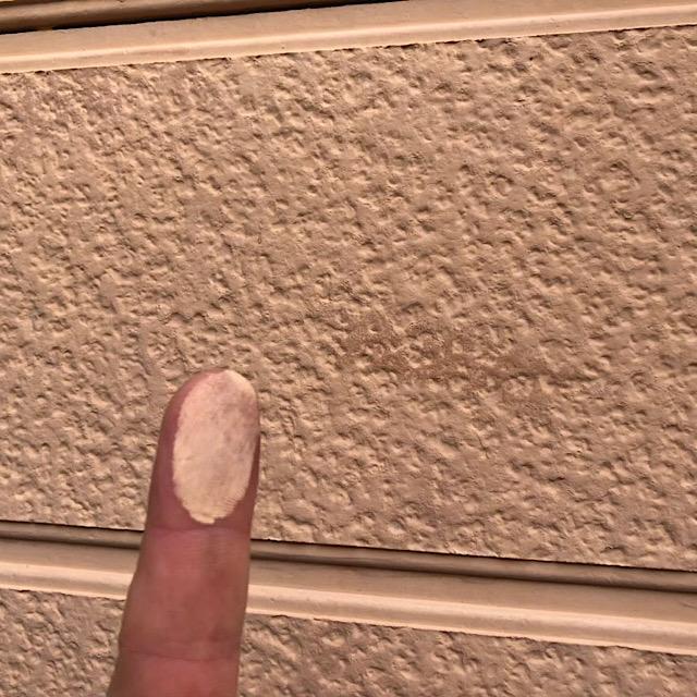 外壁のチョーキング現象