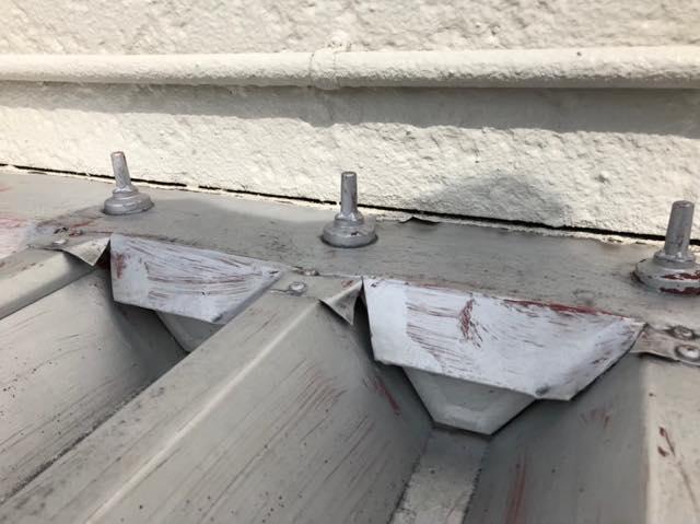 折板屋根が劣化してきました