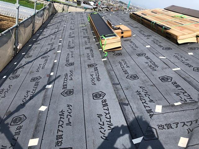 屋根カバー工法 ルーフィング