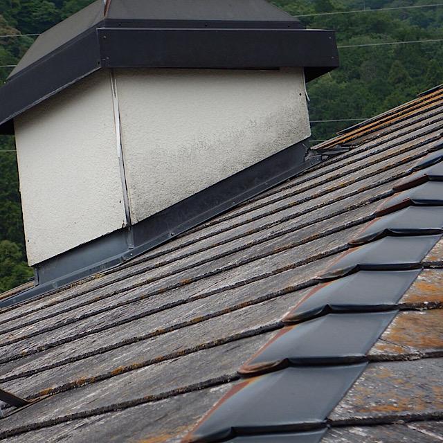 パナホームの屋根から雨漏り