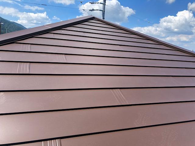 大屋根カバー工法完成写真