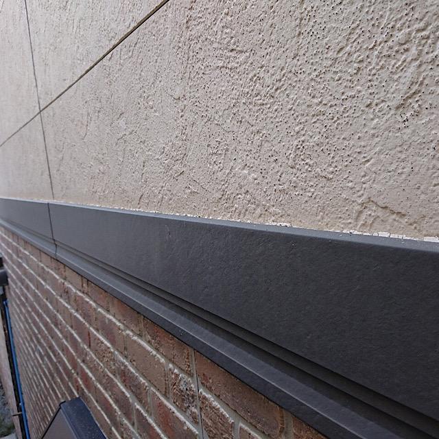 外壁塗装帯上のコーキング工事前