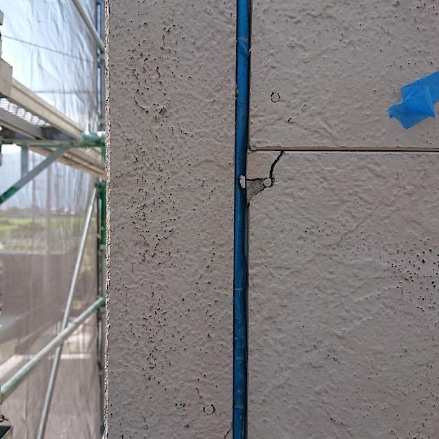 外壁塗装シーリング工事前