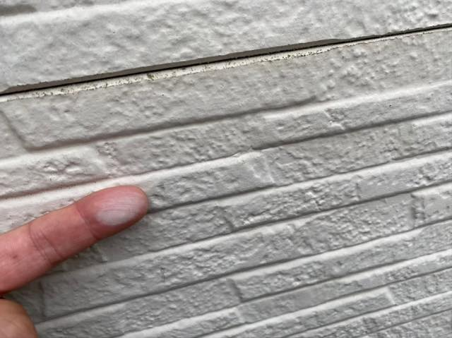 揖斐郡揖斐川町で塗り替え工事をご検討中の方!外壁塗装調査の様子をご紹介