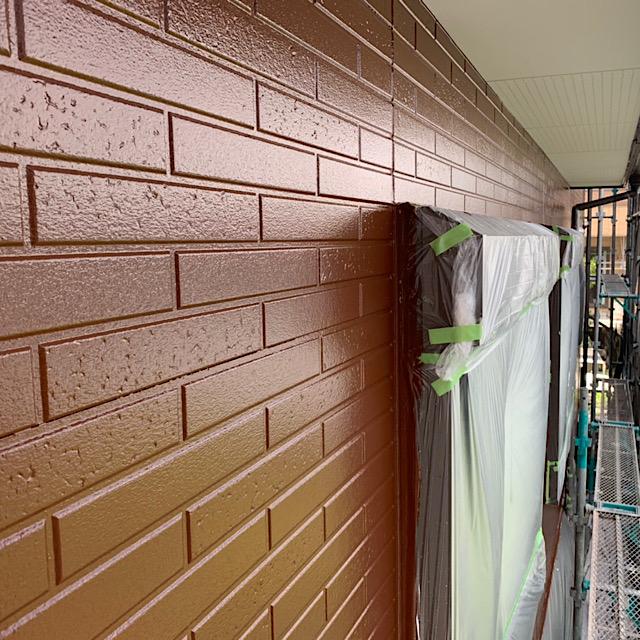 外壁塗装工事3回塗り完成
