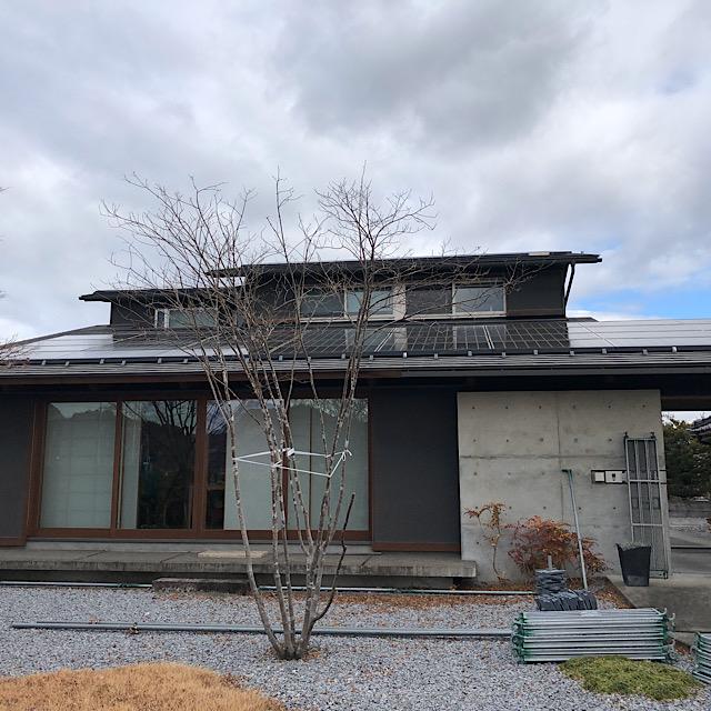 安八郡神戸町で外壁塗装工事前の写真