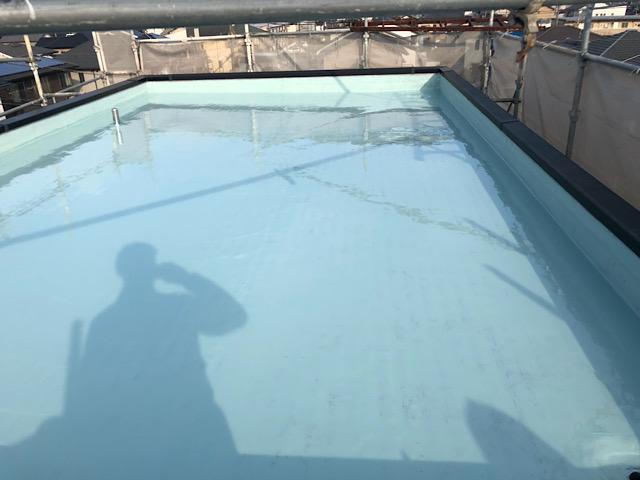 屋上防水工事完成写真