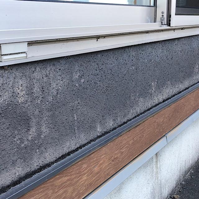 外壁塗装工事 水切りの写真
