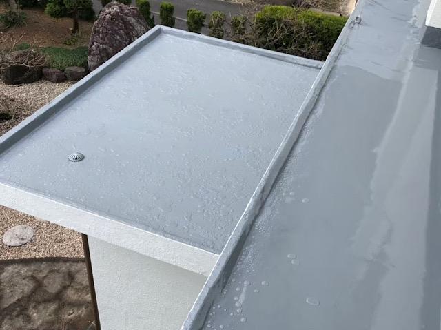 防水塗装の性能