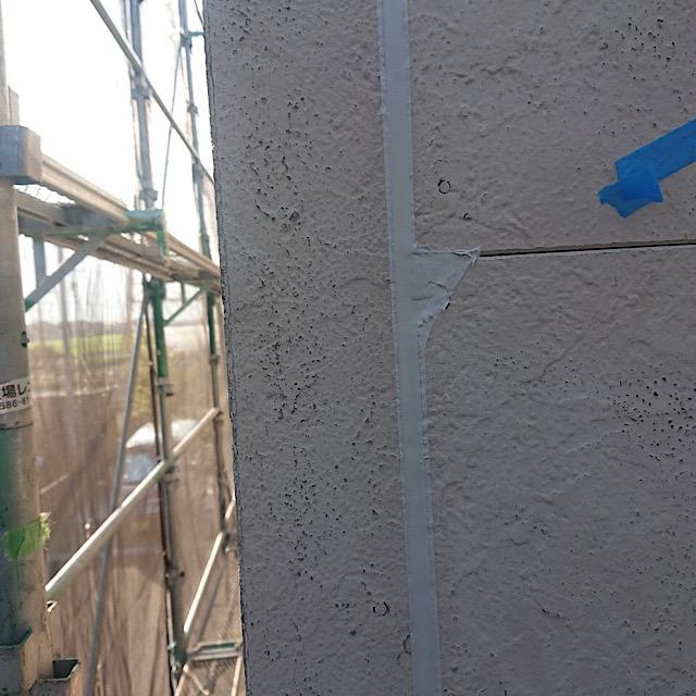 外壁塗装のシーリング工事
