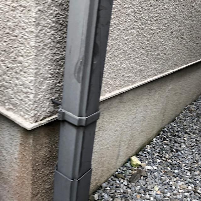 雨樋塗装工事前