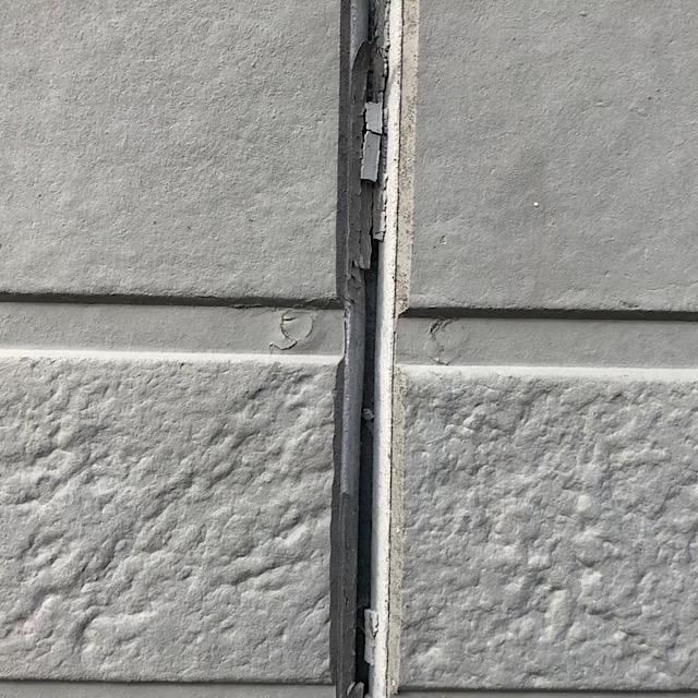揖斐郡池田町でシーリングが劣化した写真