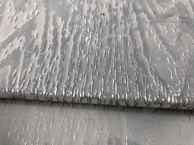 スレート屋根の剥げ