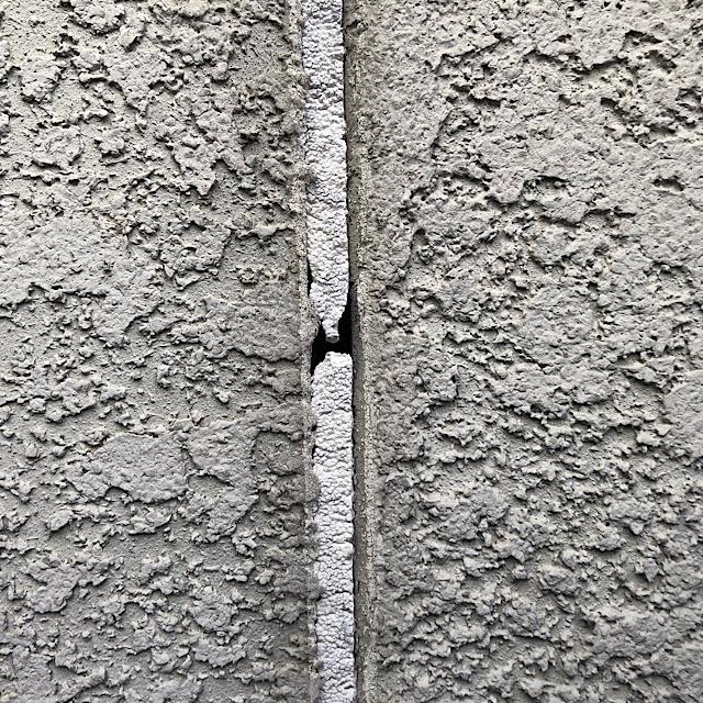 積和ハウスの外壁のシーリング