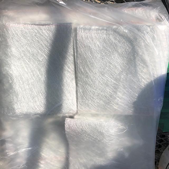 ベランダ防水工事の材料ガラスマット