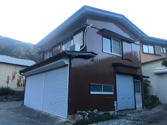 池田町小寺で塗装工事