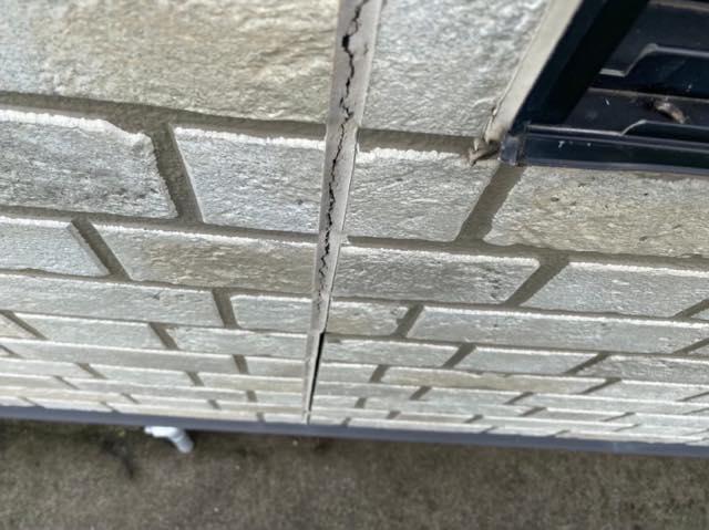 壁シーリングの劣化