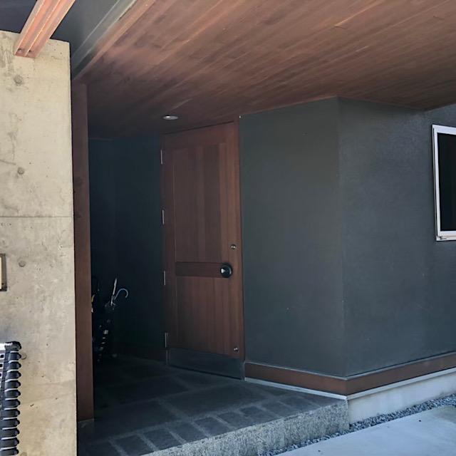 安八郡神戸町で木造を塗装