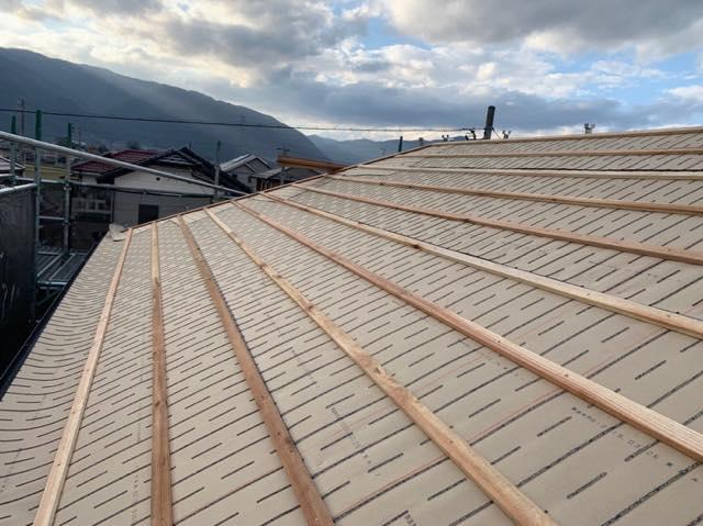 屋根が生まれ変わります