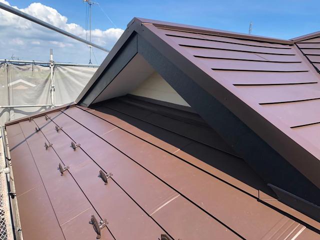 板金屋根です