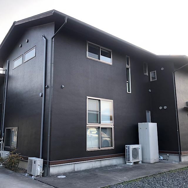 安八郡神戸町で外壁塗装完成全体写真