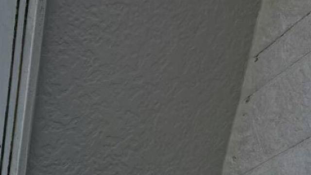 軒天の塗装終了