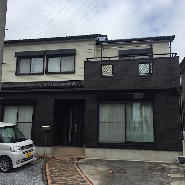 安八郡神戸町で外壁塗装工事完成写真
