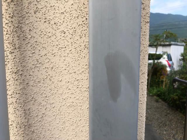 雨樋の色あせ