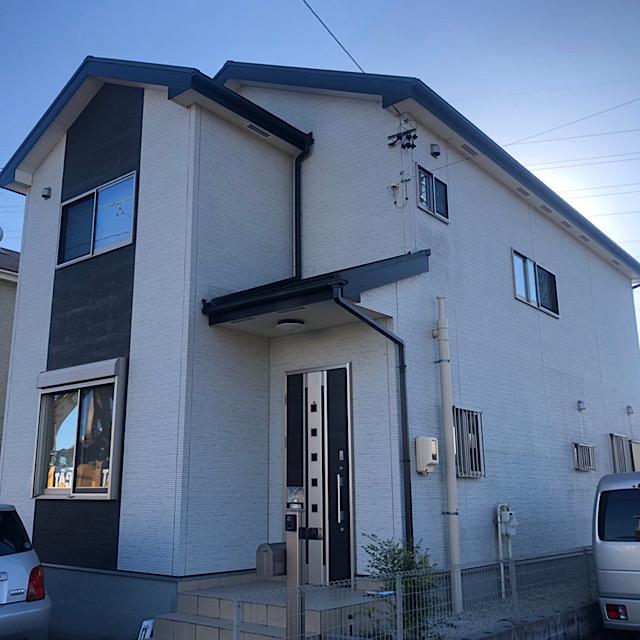 岐阜市 外壁、屋根塗装 施工前写真