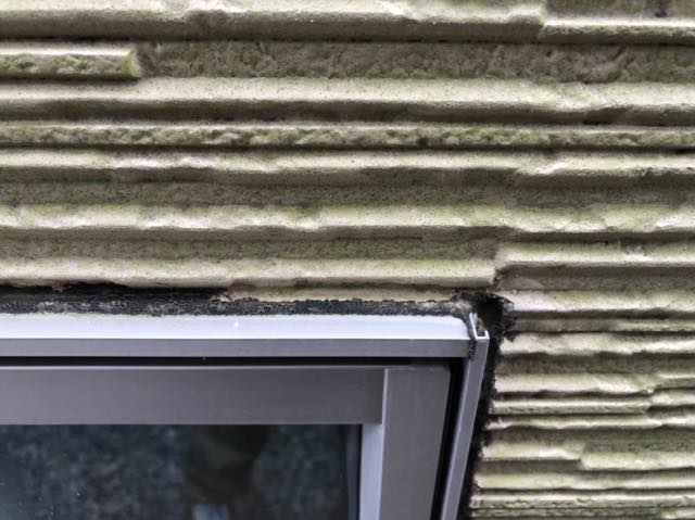 窓シーリングの劣化