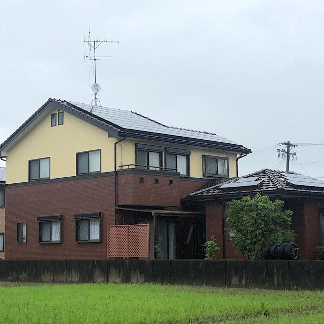 羽島郡笠松町で外壁塗装工事完成