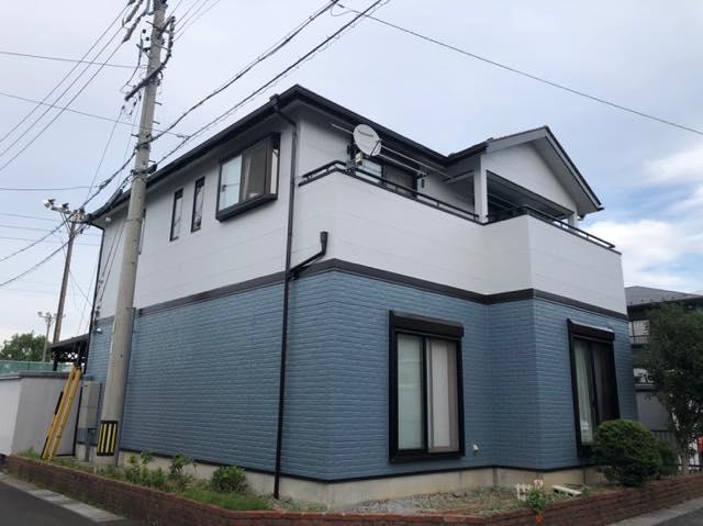 施工後の家