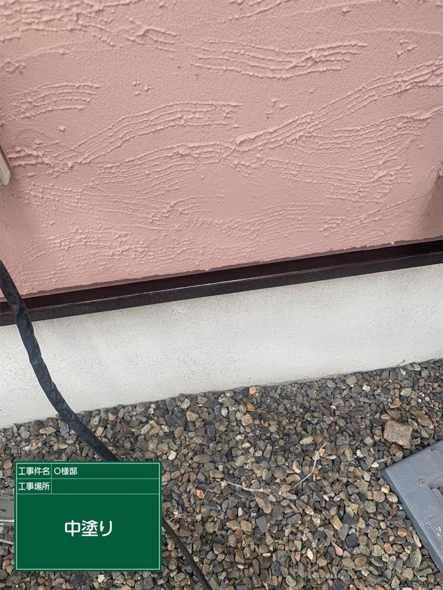 ガイナで中塗り塗装